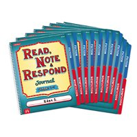 Read, Note & Respond Journal - Set of 10