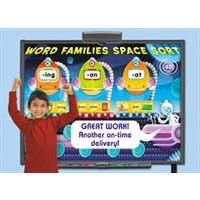 Space Sort Interactive Word Games Complete Set-Single License CD-ROM