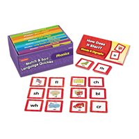 Match & Sort Phonics Quickies - K-Gr. 1