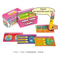 Word Work Interactive Learning Cards