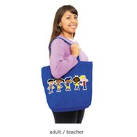 Hold-It-All Teacher Tote