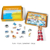 Animals Activity Tin