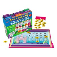 Counting and Place Value Folder Game Library K-1