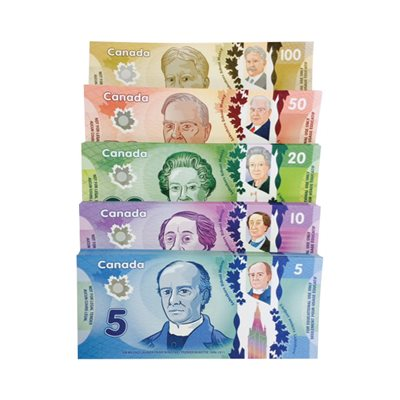 Canadian Play Bills - Bag of 250 bills