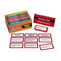 Match & Sort Grammar & Writing Quickies - Gr. 4-5
