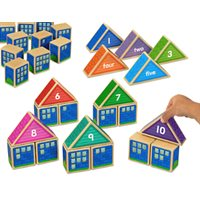 Build-A-Number Houses