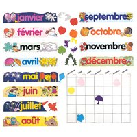 French Canadian Calendar Set