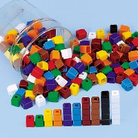 Unifix Cubes - 200 Pcs