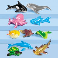 Soft & Squeezy Ocean Animals