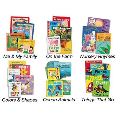 Board Book Theme Libraries-Complete Set