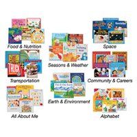 Wintergreen Theme Book Libraries-Set 1