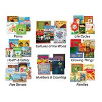 Wintergreen Theme Book Libraries-Set 2