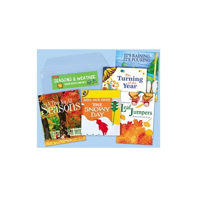 Seasons And Weather-Theme Book Library