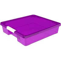 Craft Box- 12x12 Purple