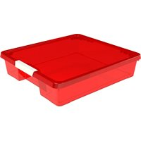 Craft Box- 12x12 Red