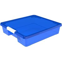 Craft Box- 12x12 Blue