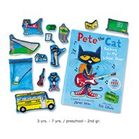 Pete the Cat: Rocking in My School Shoes Storytelling Kit