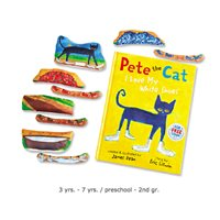 Pete the Cat: I Love My White Shoes Storytelling Kit