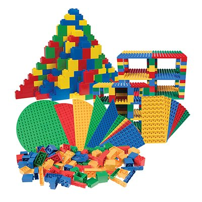 Big Briks Baseplates and Briks Set