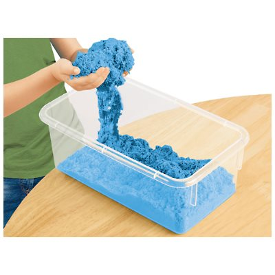 D- Coloured Kinetic Sand-Blue - 5lbs