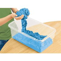 D- Coloured Kinetic Sand-Blue - 5lbs (CLEARANCE - see qty available)