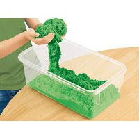 D- Coloured Kinetic Sand-Green- 5lbs.