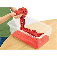 Coloured Kinetic Sand-Red- 5lbs