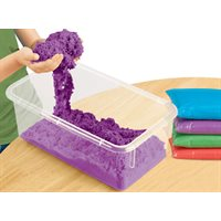 D- Coloured Kinetic Sand-Purple- 5lbs (CLEARANCE - see qty available)