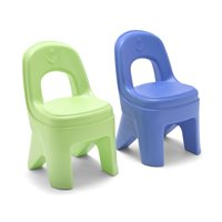 Simplay3® 2 Pack of Chairs - Periwinkle & Lime Green