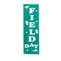 Field Day Award Ribbons - Pack of 12