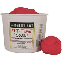 Art-Time Dough -3lb Container-Set of 4