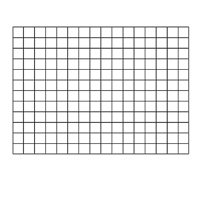 "1.5"" Sq. Graphing Grid Wipe-Off Charts"