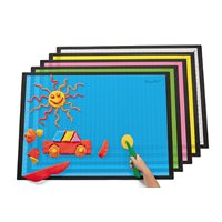 Extra-Large Messy Mats-Set of 5