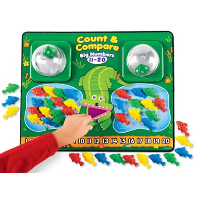 Count & Compare Big Numbers