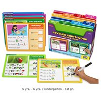 Leveled Sight-Word Practice Cards