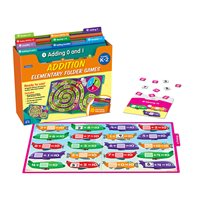 Addition Facts Folder Game Library