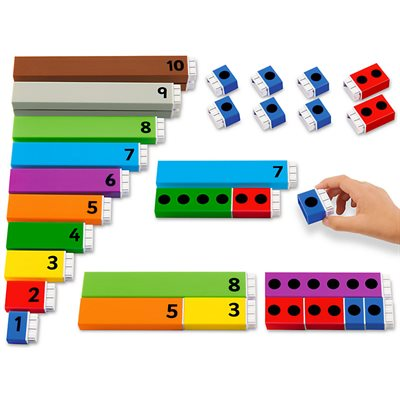 Connect & Count Number Rods
