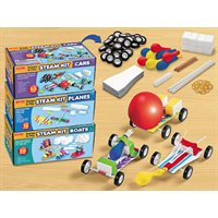 Design & Play Steam Kits-Complete Set