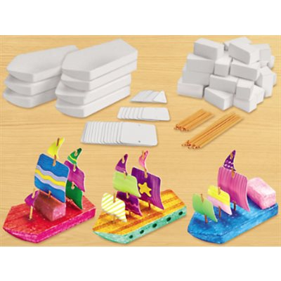 Design & Play Steam Boats Kit