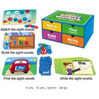Learning Sight-Words Activity Chest
