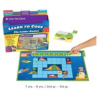 Learn To Code File Folder Game- Gr.2-3