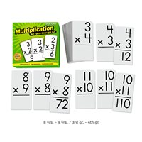 All Facts Math Flash Cards- Multiplication