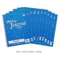 Writing Journal-Gr. 2-3, Set of 10