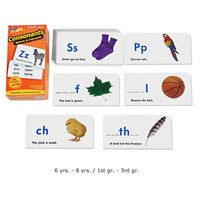 Consonants, Blends & Digraphs Flash Cards