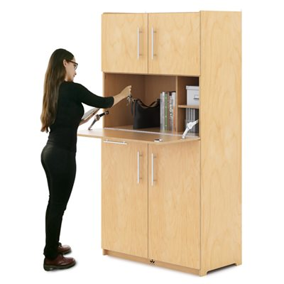 Teachers Work Station Cabinet