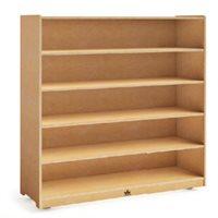 "48"" Tall Mobile Bookshelf"