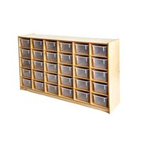 Cubby Storage Cabinet - With 30 Trays