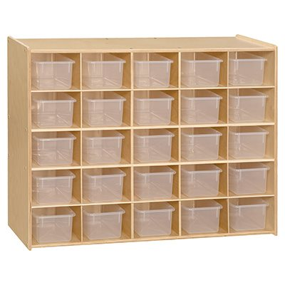 Contender 25 Tray Storage with Translucent Trays - RTA