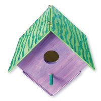 Bird House - Pack of 12