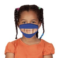 Youth READ MY LIPS Face Mask - Assorted Colours - Ages 4-7